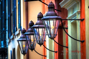 Historic Charleston Gas Lamps