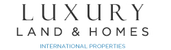 Luxury Land and Homes Logo