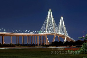 Ravenel Bridge in Charleston SC